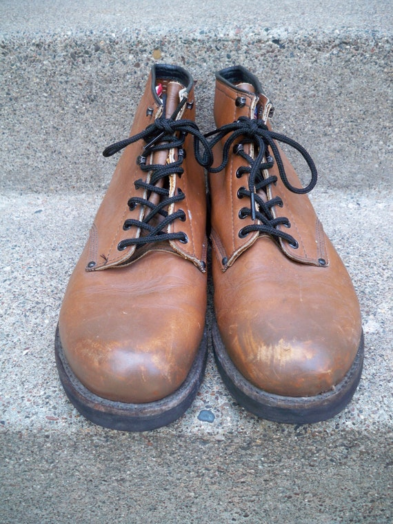 in Toe Travail cuir Extra hommes Boots Soft USA large 11 chasse Sport Made travail taille en Sport N g77Ct