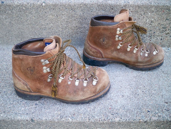 Details about Vintage Nike Air RARE ACG Gore Tex Hiking Boots Shoes Womens 9.5 Brown Leather