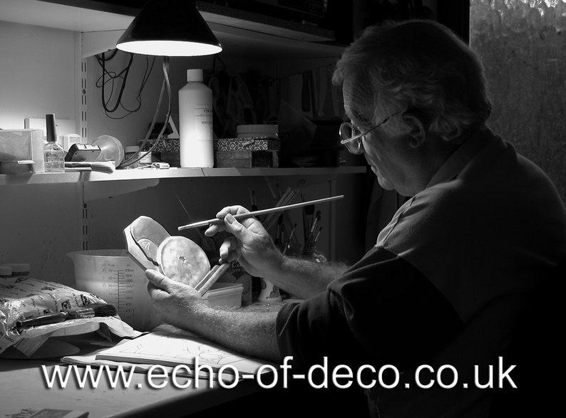 Echo de Deco Art Déco Inspiré Odeon Mantel Horloge