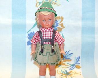 German Boy Doll, 1950s