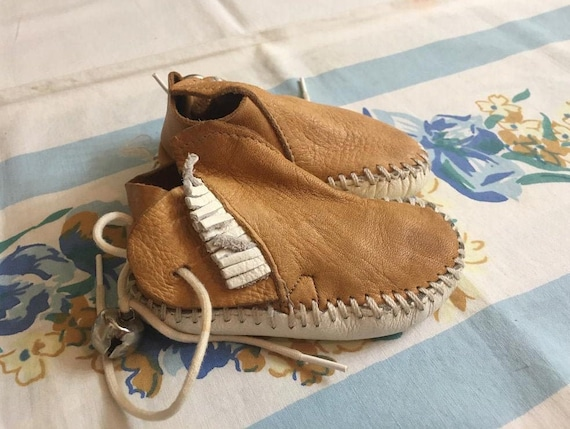 Baby Moccasins 1960s True-Moc with
