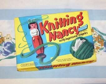 Knitting Nancy in Box, 1960s