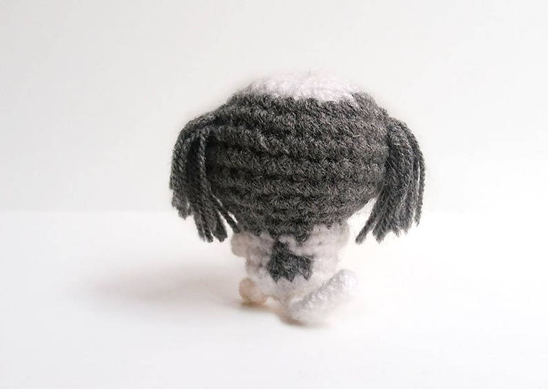 Amigurumi miniature Shih tzu, crochet custom Shih tzu  Crochet dog