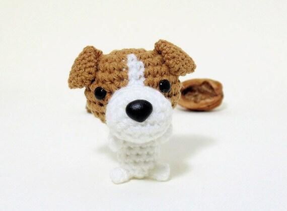 JACK RUSSELL Terrier crochet amigurumi crochet dog amigurumi | Etsy | 420x570