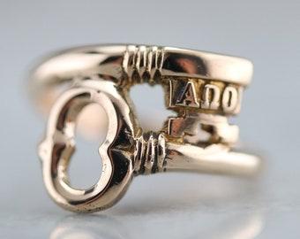 Vintage fraternity ring | Etsy