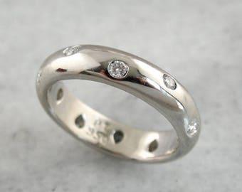 a3275e4b9 Vintage Tiffany and Company Etoile Eternity Band, Bezel Sel Diamond  Starlight Band, Platinum and Diamond Ring, Tiffany & Co. 90960N-D