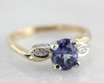 Oval Sapphire Anniversary or Engagement Ring DCYD69-R