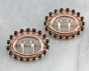 Vintage Costume Jewelry Set Brass Jewelry Bohemian Jewelry KKKF2QNK-R Retro Era Jewelry