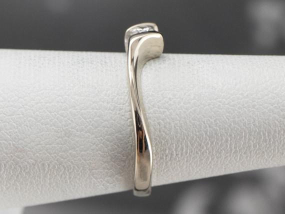 Diamond White Gold Solitaire Ring, Diamond Engage… - image 9