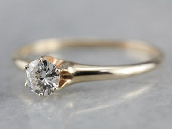 Antique Victorian Diamond Engagement Ring, Antiqu… - image 3