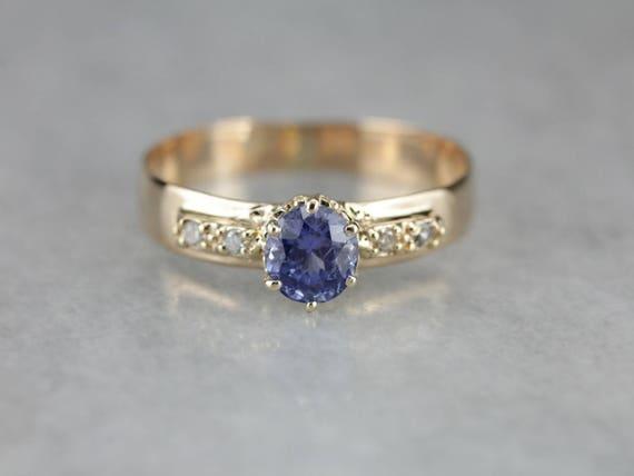 Sapphire and Diamond Engagement, September Birthst