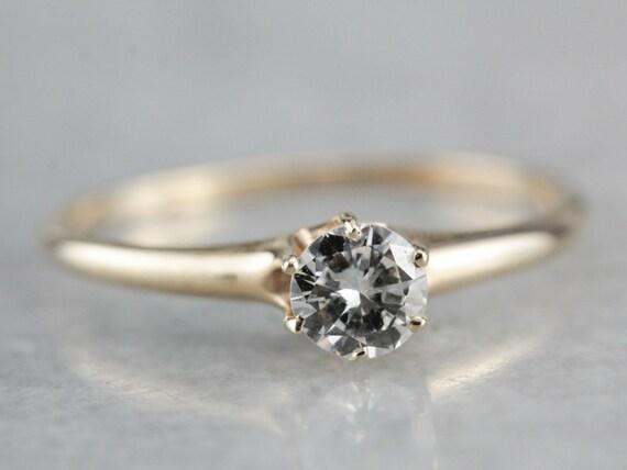 Antique Victorian Diamond Engagement Ring, Antiqu… - image 2