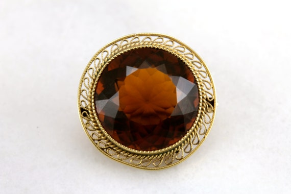 Natural Brandy Citrine Faceted Loose Oval Gemstones Wholesale 8x6mm 16pc 17.57Ct