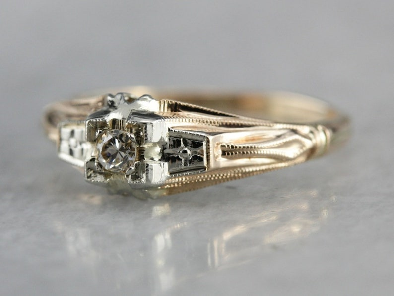 R255 Genuine 9K Yellow Rose or White Gold Stackable Bubbles Ring Wedding Band in your size