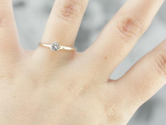 Antique Victorian Diamond Engagement Ring, Antiqu… - image 6