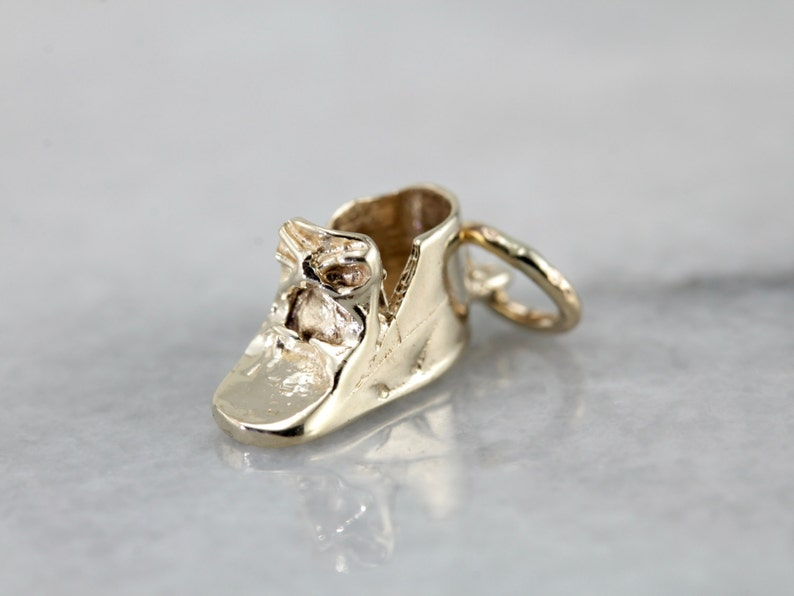 Sweet Keepsake Baby Shoe Charm or Pendant 8P8XM9-R