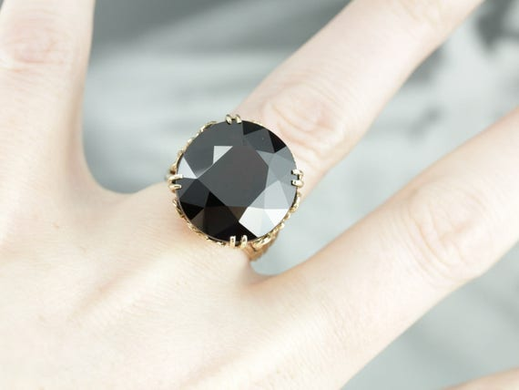 Stunning Collector's Quality Garnet Cocktail Ring… - image 4