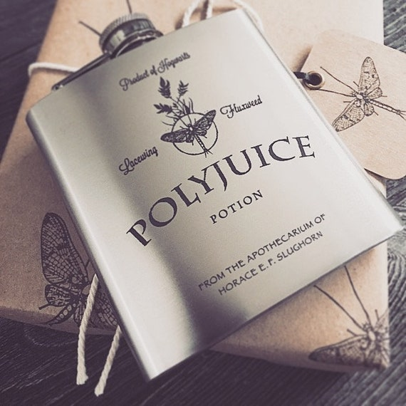 Polyjuice Gift Wrap - Gift Box & Funnel Set with Flask