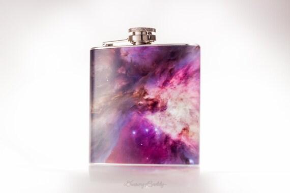 Orion Nebula - 6oz Hip Flask - Vinyl