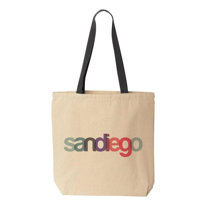 San Diego Tote Bag San Diego Wedding Welcome Bag Destination Wedding Tote Bag San Diego Gift Bag San Diego Welcome San Diego Bachelorette