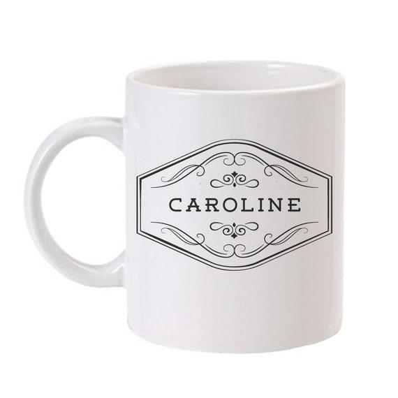 Personalized Coffee Mug Personalized Mug Custom Coffee Mug ...