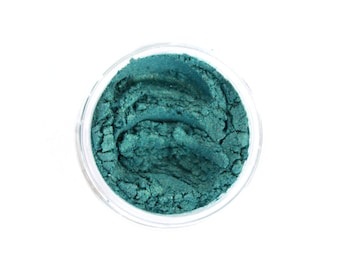 Mermaids Exist - All Natural Makeup - Turquoise - Eye Makeup - Turquoise Eye Shadow - Vegan Makeup - Gifts for Her