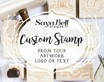 custom rubber stamp etsy