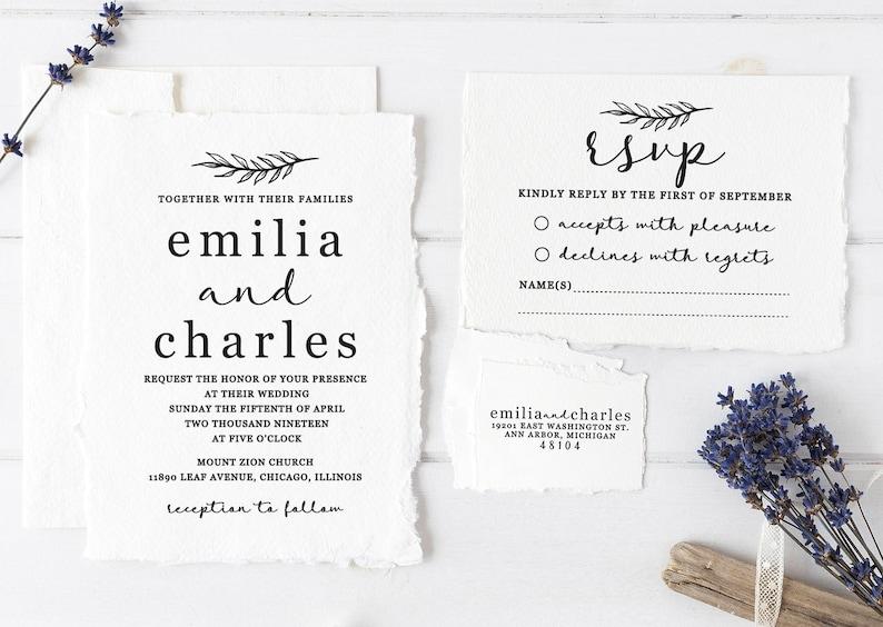 Wedding Invitation Stamp Suite Custom Wedding Stamps Etsy