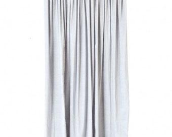 witte katoenen fluwelen gordijn panel 108 h lange zware dikke akoestische studio lawaai dodelijkgeluiddichte energiebesparing thermische drapes gordijnen