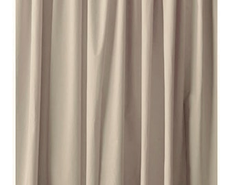 144H Beige Velvet Curtain Extra Long Panel Drape Modern Store Window Wedding Boutique Wall Door Cover Decor Ivory Fabric Color Drapery Sale