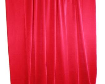 nieuwe 72 inch hoge fuchsia gevlekt fluwelen gordijn lange panel woonkamermeisjes slaapkamerdeurraam behandeling draperen decor van het huis wrod pocket