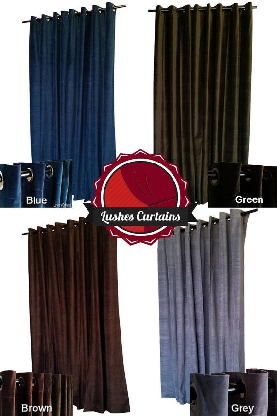 Gray Velvet 11/' High Curtain Long Panel Studio Sound Reduction Theatrical Drape