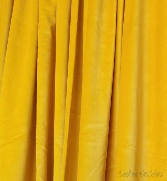 "Gray Velvet Curtain 84/"" H Panel Music Studio Noise//Sound Proofing Cotton Velour"