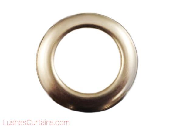 20 x Curtain Upholstery Rings White Plastic Internal Diameter 14mm 9//16