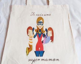 Tote bag I am a great MOM