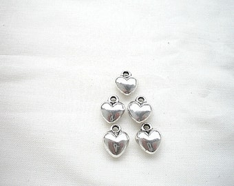 5 charm heart 14x8