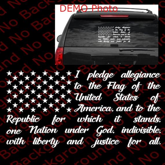 3 Percenter American USA Flag Vinyl Decal Gun Rights Window Off Road 4x4 US027