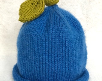 Blueberry Hat for Babies, Toddlers, Kids