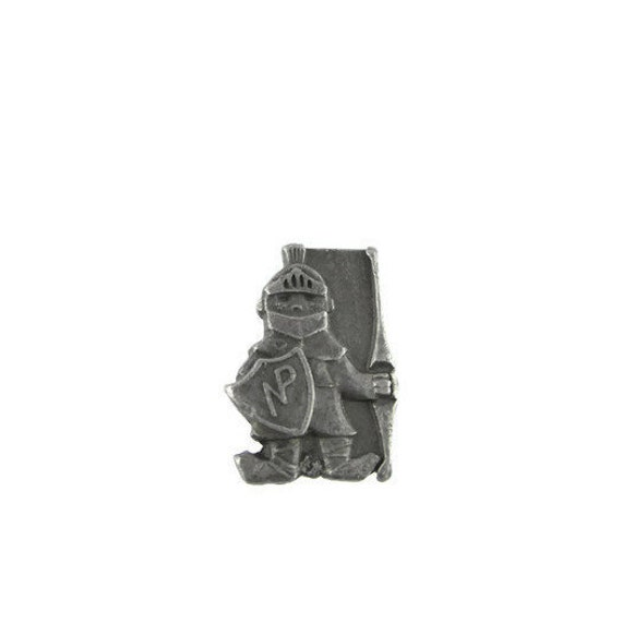 Knight in Armour Tie Tack/ Knight with Shield Lape