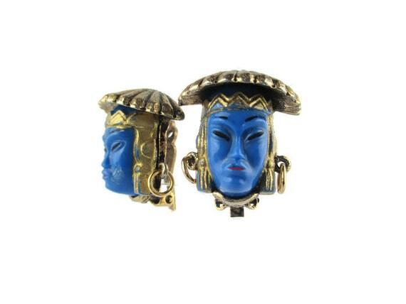 Asian Princess Terendak Hat Earrings/ Selro  Style