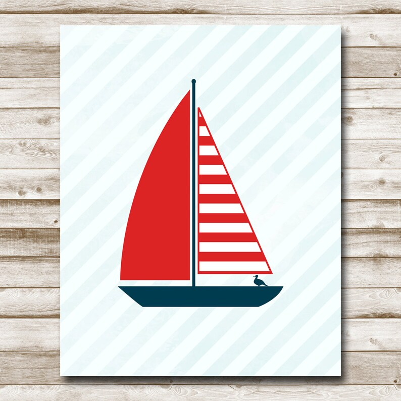 graphic relating to Sailboat Printable referred to as Sailboat Printable Nautical Print 5x7 8x10 11x14 Sailboat Print Nursery Print Pink Military Coastal Decor Sailing Print Images Prop