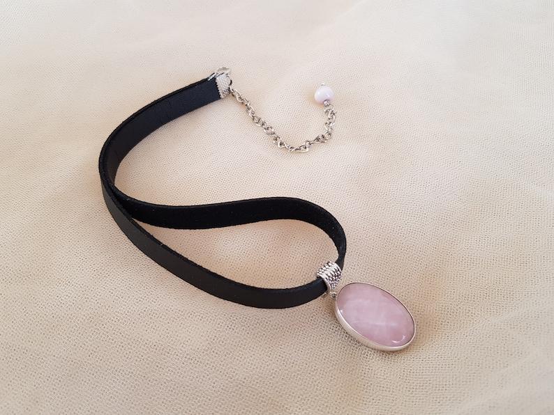 Bracelet and Earrings Set,Rose Quartz Cuff Bracelet,Pink Pendant,Retro Pendant,Pink Stone Bangle,Statement Jewellery Rose Quartz Pendant