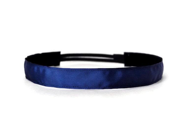 Non-slip headband. Running headband.  Workout headband.  2 image 0