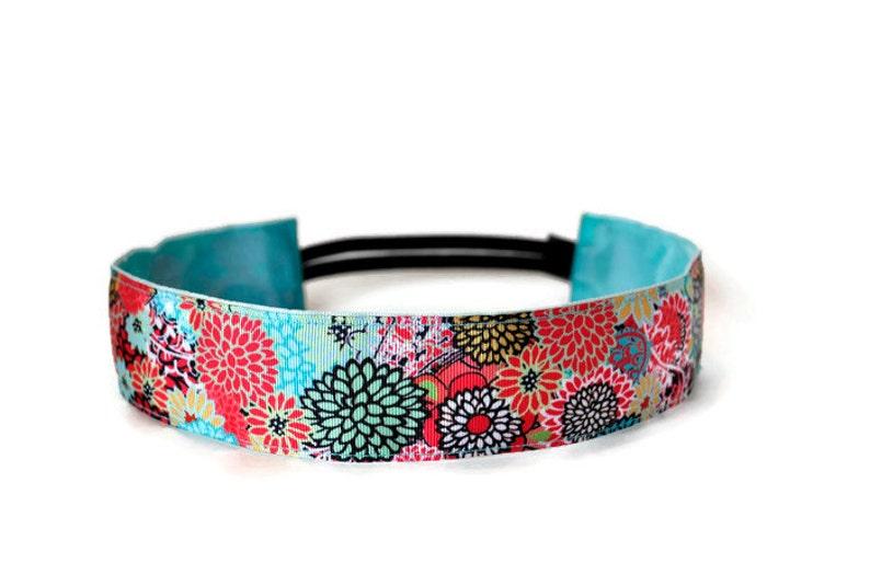 Wide Running Headband. Non-Slip Headband. Best Headband. Yoga image 0