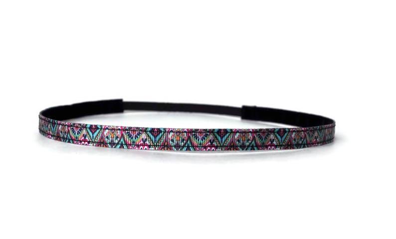 Skinny Headband. Non-Slip Headband. Best Headband. Yoga image 0