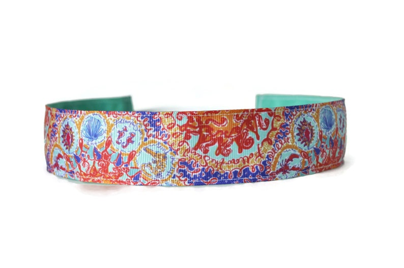 Wide Yoga Headband. Women's Headband. Running headband. image 0