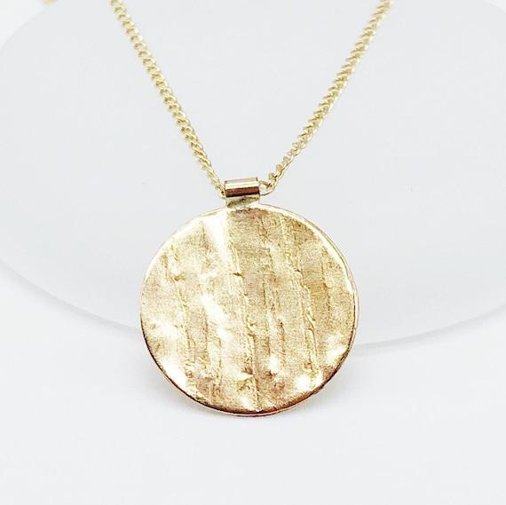 Handmade Ethical Cadena Necklace Hypoallergenic Minimalist 14kt Gold Filled Figure 8 Collar Necklace