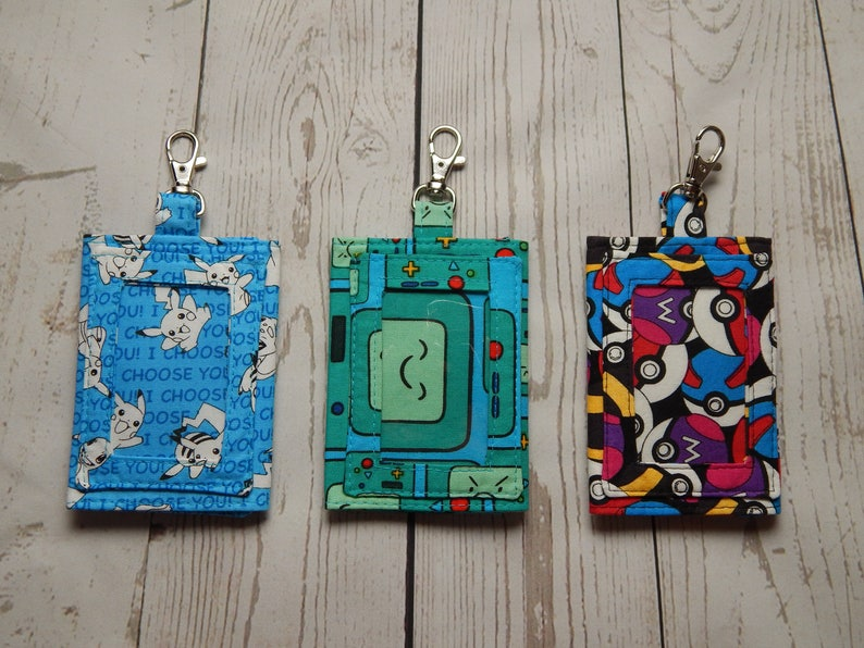 Create Your Own Custom ID Badge Holder Over 180 Fabrics To image 0