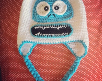 Handmade Crochet Bumble The Abominable Snowman Hat