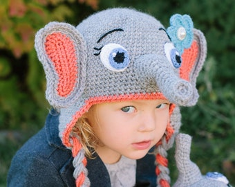 f4dab2d5 Animal hat pattern | Etsy